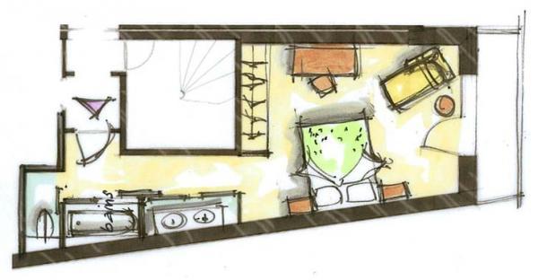 Hôtel le Blizzard_Luxe Village_plan 33m²